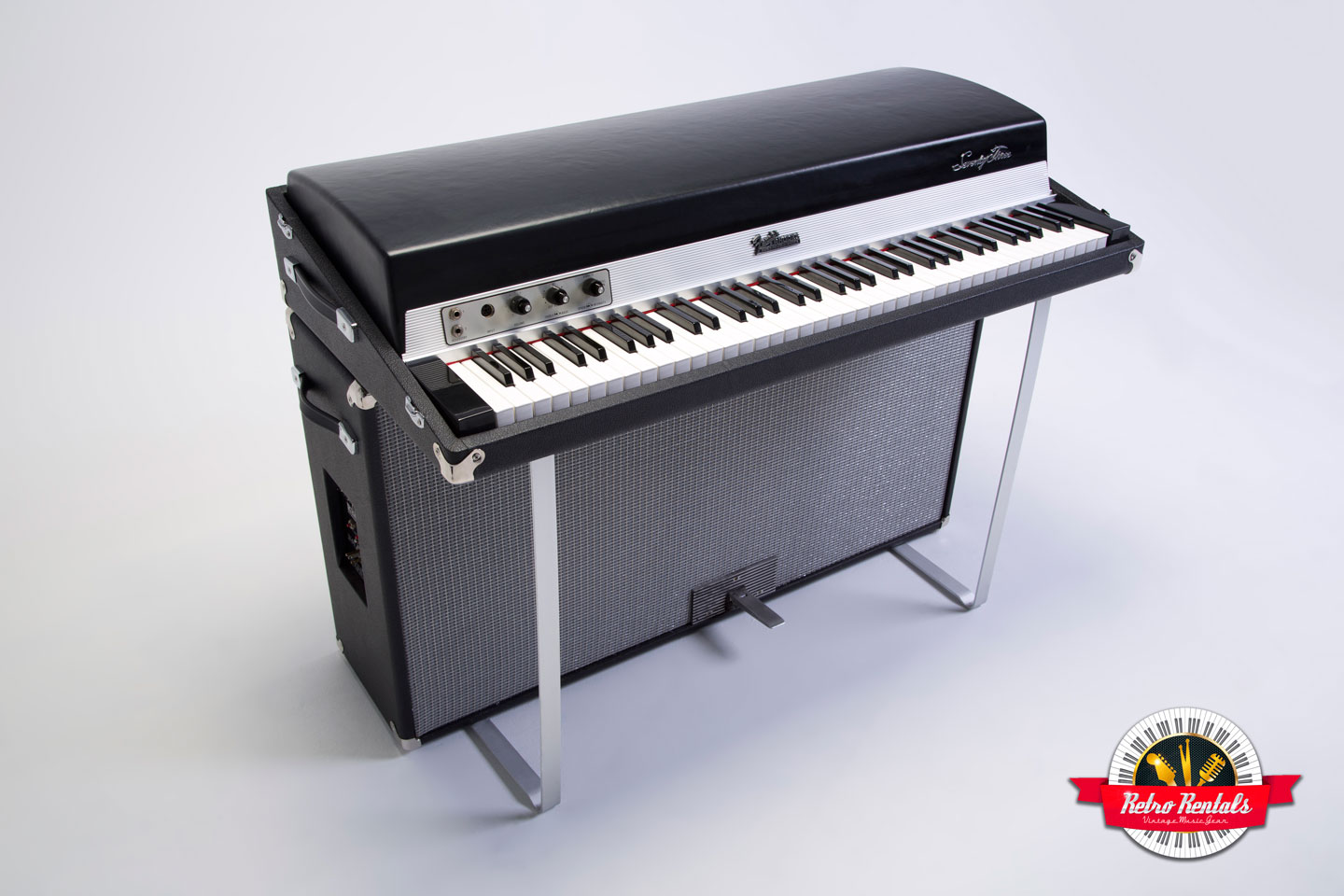 1971 fender rhodes suitcase 73 key retro rentals. Black Bedroom Furniture Sets. Home Design Ideas