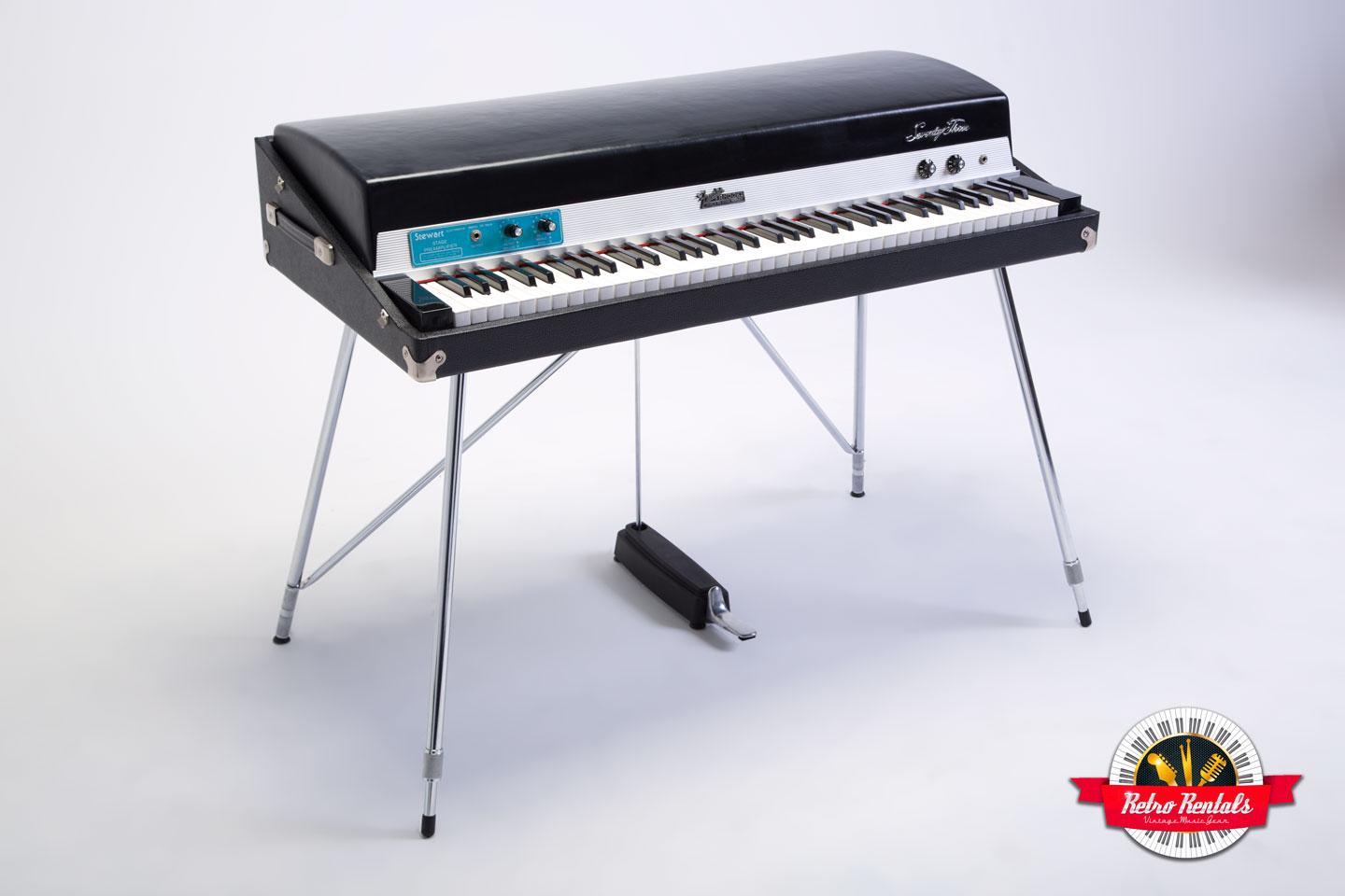 1972 fender rhodes mark 1 stage piano 73 key retro rentals. Black Bedroom Furniture Sets. Home Design Ideas