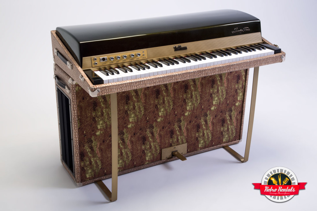 Fender Rhodes 1974 Solid Gold Suitcase 73 4