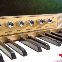Fender Rhodes 1974 Solid Gold Suitcase 73 7