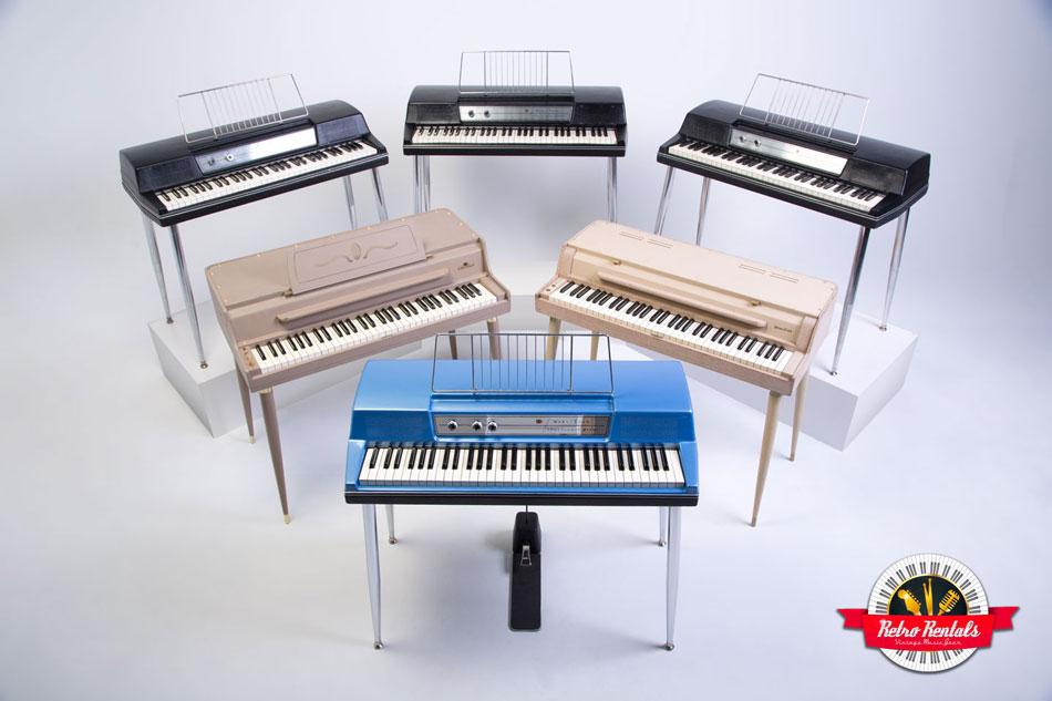 vintage wurlitzer e-piano