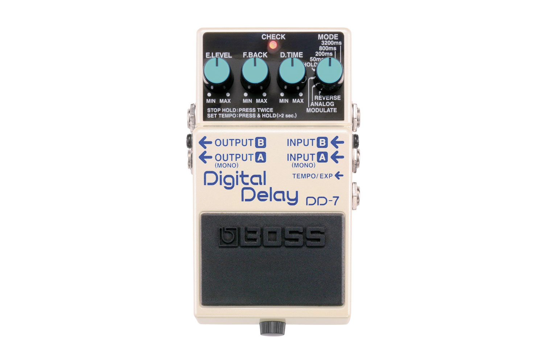 digital delay boss effects pedal retro rentals. Black Bedroom Furniture Sets. Home Design Ideas