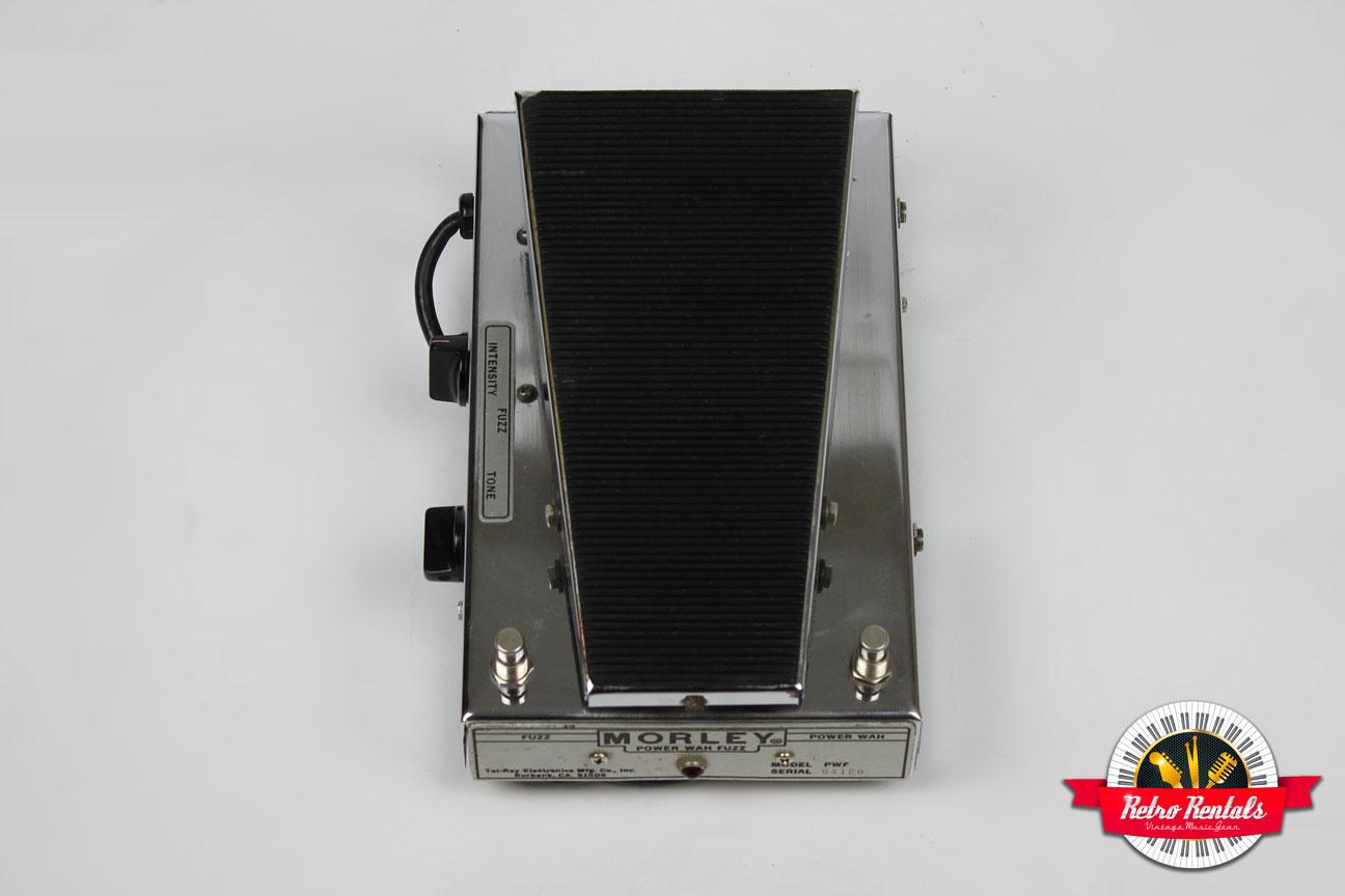 morley power wah fuzz vintage effects pedal retro rentals. Black Bedroom Furniture Sets. Home Design Ideas